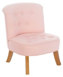 Somebunny Linen Chair - Baby Pink Colour