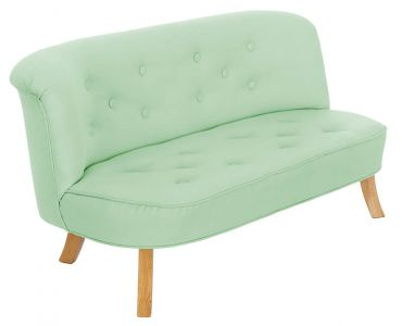Somebunny Linen Sofa - Mint Green Colour