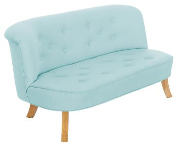 Somebunny Linen Sofa - Baby Blue Colour